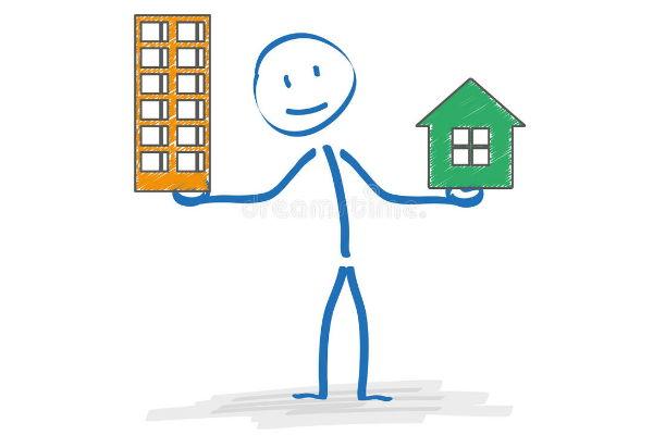 Что выбрать - частный дом или квартиру в кредит?