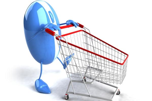 Покупка товаров в интернете при помощи кредитки