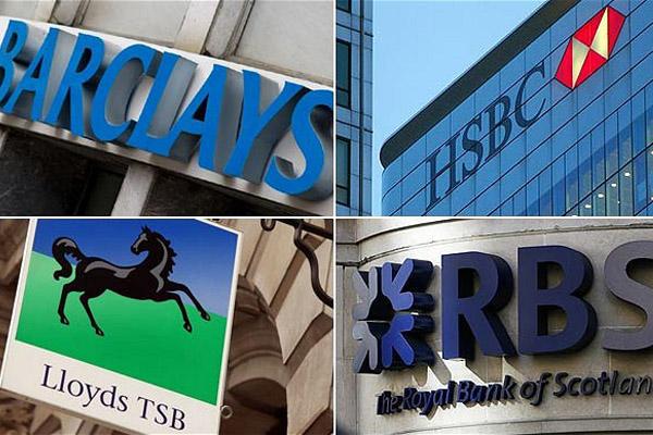 Владельцы акций британских банков подсчитывают убытки