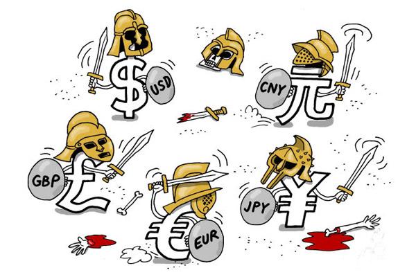Валютная война - начало