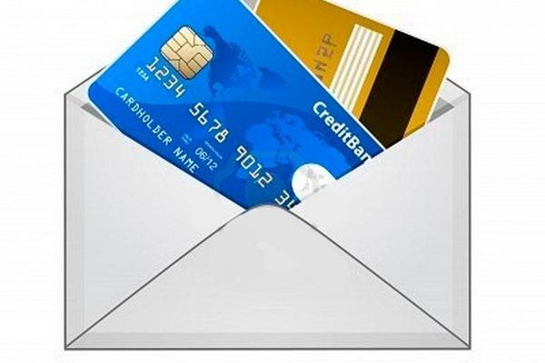 Новые услуги банков: кредитная карта почтой