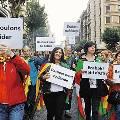 Испанцы винят в безработице банки